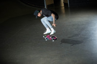 Nyjah Huston Destroying The Berrics