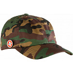 Bones Bearings Dad Camo Cap W/ Circle Pin