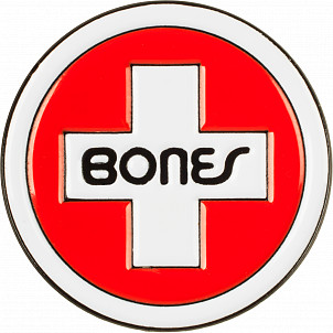 Bones Bearings Lapel Pin Swiss Circle