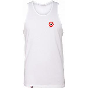 Bones Bearings Swiss Logo Tank Top White