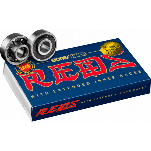 Bones® Race REDS® Skateboard Bearings 8 pack