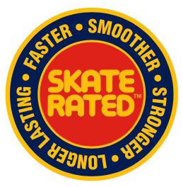 Skate Rated Sticker